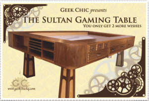 The Sultan (c) Geek Chic