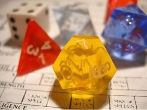 Polyhedral Dice (c) Dave Ward