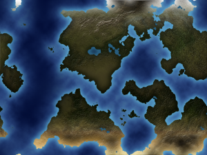 Photoshop World Map