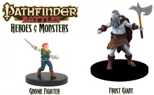 PFB Gnome Fighter & Frost Giant