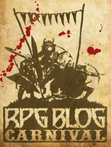 RPG Blog Carnival Logo - Superstitions